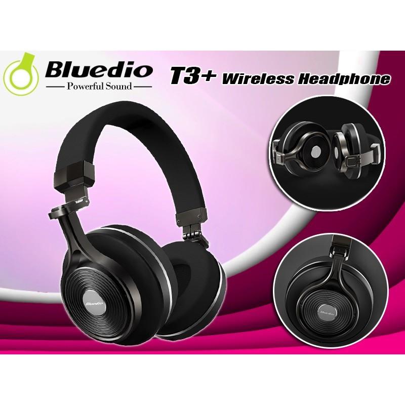 bbd848edf2f Bluedio T3 Plus (Turbine 3rd) Wireless Bluetooth 4.1 Stereo ...