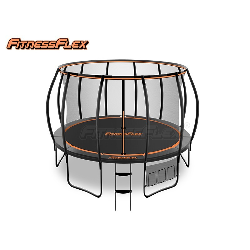 FitnessFlex Trampoline Advanced 12ft